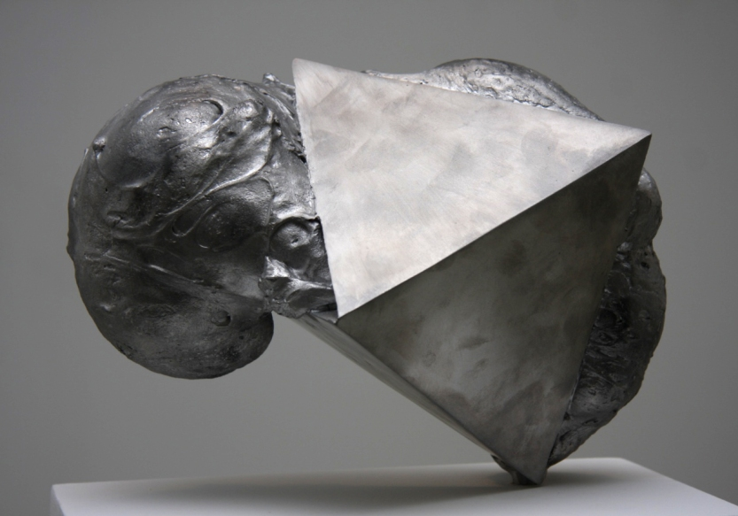 2013 'Untitled' cast aluminium, 40 x 35 x 25 cm